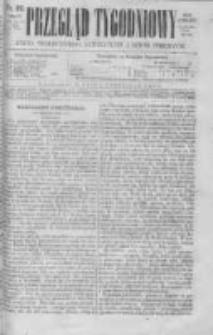 Przegląd Tygodniowy Życia Społecznego Literatury i Sztuk Pięknych 1869, R.IV, Nr 27