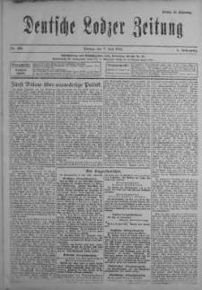 Deutsche Lodzer Zeitung 7 lipiec 1916 nr 186