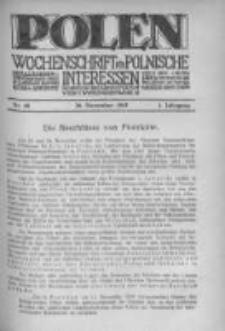 Polen. Wochenschrift für polnische Interessen. 1915, Jg. 1, Bd. IV, Nr 48