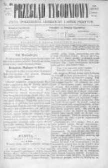 Przegląd Tygodniowy Życia Społecznego Literatury i Sztuk Pięknych 1869, R.IV, Nr 48