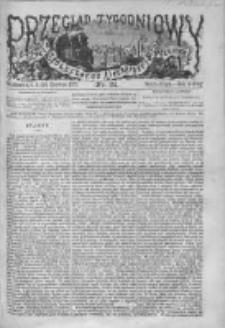 Przegląd Tygodniowy Życia Społecznego Literatury i Sztuk Pięknych 1872, R.VII, Nr 24
