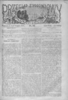Przegląd Tygodniowy Życia Społecznego Literatury i Sztuk Pięknych 1872, R.VII, Nr 33