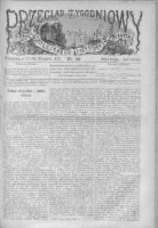 Przegląd Tygodniowy Życia Społecznego Literatury i Sztuk Pięknych 1872, R.VII, Nr 39
