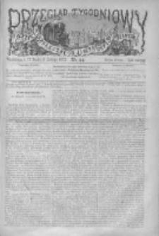 Przegląd Tygodniowy Życia Społecznego Literatury i Sztuk Pięknych 1872, R.VII, Nr 44