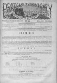 Przegląd Tygodniowy Życia Społecznego Literatury i Sztuk Pięknych 1872, R.VII, Nr 49