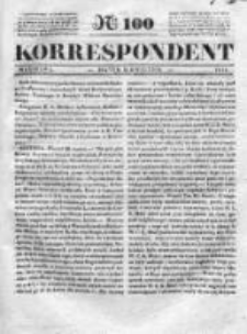 Korespondent, 1835, I, Nr 100
