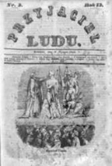 Przyjaciel Ludu czyli Tygodnik potrzebnych i pożytecznych wiadomości 1846, R.13, Nr 3