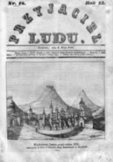 Przyjaciel Ludu czyli Tygodnik potrzebnych i pożytecznych wiadomości 1846, R.13, Nr 18