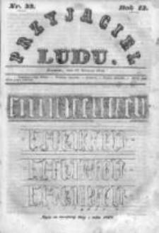 Przyjaciel Ludu czyli Tygodnik potrzebnych i pożytecznych wiadomości 1846, R.13, Nr 33