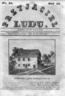 Przyjaciel Ludu czyli Tygodnik potrzebnych i pożytecznych wiadomości 1846, R.13, Nr 35