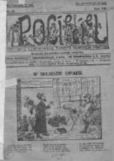 Pocięgiel. Tygodnik ilustrowany tknięty humorem i satyrą, 1917, R. 8, Nr 18