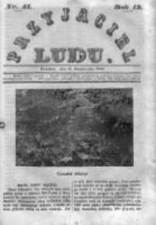 Przyjaciel Ludu czyli Tygodnik potrzebnych i pożytecznych wiadomości 1846, R.13, Nr 41