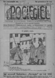 Pocięgiel. Tygodnik ilustrowany tknięty humorem i satyrą, 1919, R. 10, Nr 2