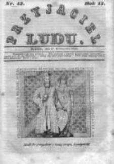 Przyjaciel Ludu czyli Tygodnik potrzebnych i pożytecznych wiadomości 1846, R.13, Nr 42