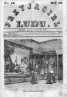 Przyjaciel Ludu czyli Tygodnik potrzebnych i pożytecznych wiadomości 1846, R.13, Nr 43