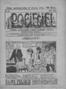 Pocięgiel. Tygodnik ilustrowany tknięty humorem i satyrą, 1921, R. 12, Nr 4