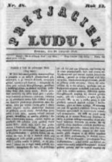 Przyjaciel Ludu czyli Tygodnik potrzebnych i pożytecznych wiadomości 1846, R.13, Nr 48