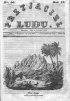 Przyjaciel Ludu czyli Tygodnik potrzebnych i pożytecznych wiadomości 1846, R.13, Nr 50