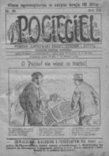 Pocięgiel. Tygodnik ilustrowany tknięty humorem i satyrą, 1921, R. 12, Nr 29