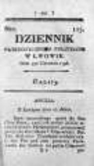 Dziennik Patriotycznych Polityków w Lwowie 1796 II, Nr 125