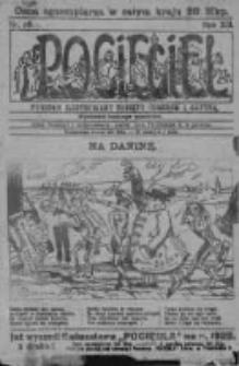 Pocięgiel. Tygodnik ilustrowany tknięty humorem i satyrą, 1921, R. 12, Nr 50