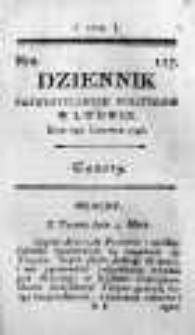 Dziennik Patriotycznych Polityków w Lwowie 1796 II, Nr 127