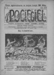 Pocięgiel. Tygodnik ilustrowany tknięty humorem i satyrą, 1922, R. 13, Nr 2