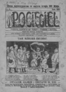 Pocięgiel. Tygodnik ilustrowany tknięty humorem i satyrą, 1922, R. 13, Nr 6