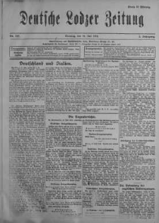 Deutsche Lodzer Zeitung 18 lipiec 1916 nr 197