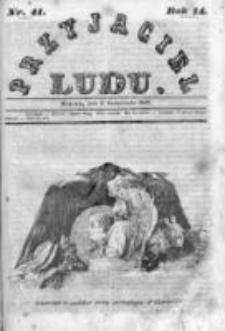 Przyjaciel Ludu czyli Tygodnik potrzebnych i pożytecznych wiadomości 1846, R.14, Nr 41