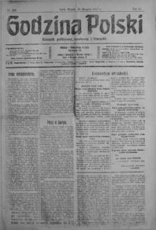 Godzina Polski : dziennik polityczny, społeczny i literacki 28 sierpień 1917 nr 235