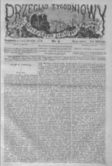 Przegląd Tygodniowy Życia Społecznego Literatury i Sztuk Pięknych 1874, R.IX, Nr 3