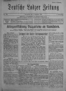 Deutsche Lodzer Zeitung 2 wrzesień 1916 nr 243