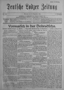 Deutsche Lodzer Zeitung 13 wrzesień 1916 nr 254