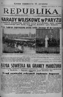 Ilustrowana Republika 22 lipiec 1938 nr 199