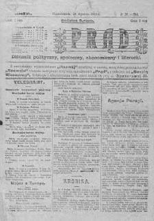 Prąd : dziennik polityczny, społeczny, ekonomiczny i literacki 24 styczeń R. 6. 1915 nr 24