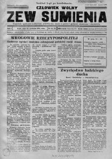 Człowiek Wolny. Zew Sumienia 18 grudzień 1936 nr 21-22