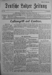 Deutsche Lodzer Zeitung 3 październik 1916 nr 274