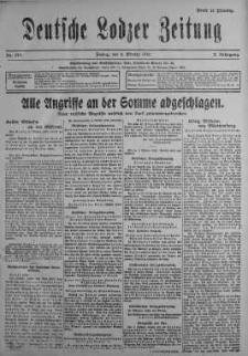 Deutsche Lodzer Zeitung 6 październik 1916 nr 277