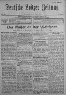 Deutsche Lodzer Zeitung 21 październik 1916 nr 292