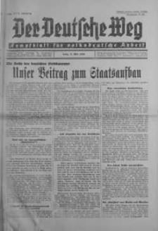 Der Deutsche Weg 3 maj 1936 nr 17