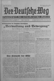 Der Deutsche Weg 7 czerwiec 1936 nr 22