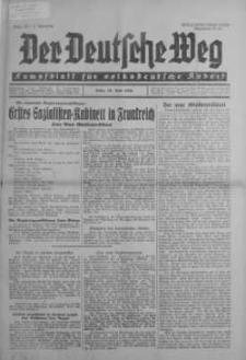 Der Deutsche Weg 14 czerwiec 1936 nr 23