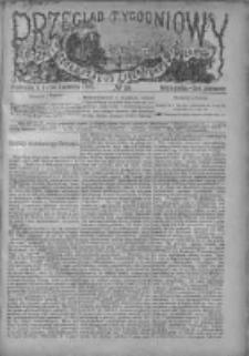 Przegląd Tygodniowy Życia Społecznego Literatury i Sztuk Pięknych 1880, R.XV, Nr 16