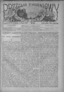 Przegląd Tygodniowy Życia Społecznego Literatury i Sztuk Pięknych 1880, R.XV, Nr 19