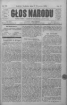 Głos Narodu, 1896, II, Nr 222