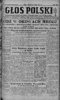 Głos Polski : dziennik polityczny, społeczny i literacki 12 luty 1929 nr 42