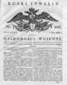 Ruski inwalid czyli wiadomości wojenne 1820, Nr 109