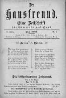 Der Hausfreund 1902 czerwiec nr 6
