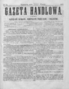 Gazeta Handlowa. Pismo poświęcone handlowi, przemysłowi fabrycznemu i rolniczemu, 1864, Nr 56